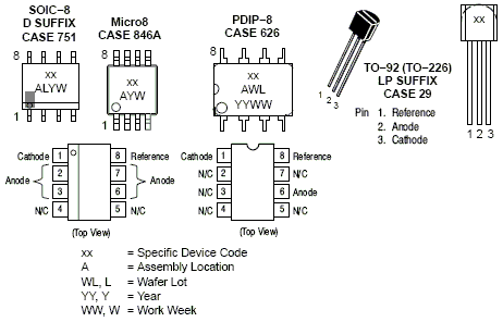 TL431A: Voltage Reference, Programmable Precision, Shunt Regulator