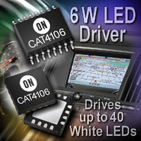 6-Watt LED Driver with Integrated DC-DC Boost Converter